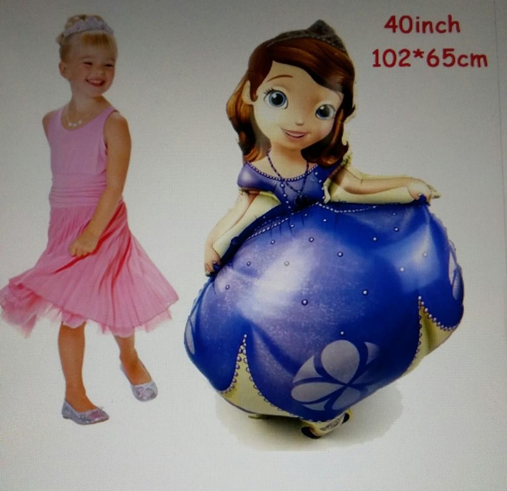 Надувная принцесса софия, 102*65 см фото №1