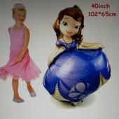 Надувная принцесса София, 102*65 см