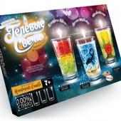 Набор для творчества Гелевые свечи Danko toys GS-02