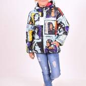 Куртка двухсторонняя дeми