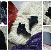 Стильные замшевые ботинки PaulGreen,р-р 36,5