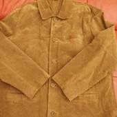 Мужская новая куртка, натуральная кожа 100%