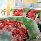 Комплект постельного белья, микросатин