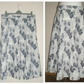 Cotton traders-натуральная юбка из льняной смеси ,55% лен,54-56 р
