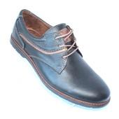 Скидка! 44 размер! Кожаные мужские туфли весна-осень