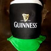 Цилиндр для любителя пива Guinness новый