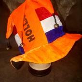 Шляпа колпак с бубенцами для фана Голландии