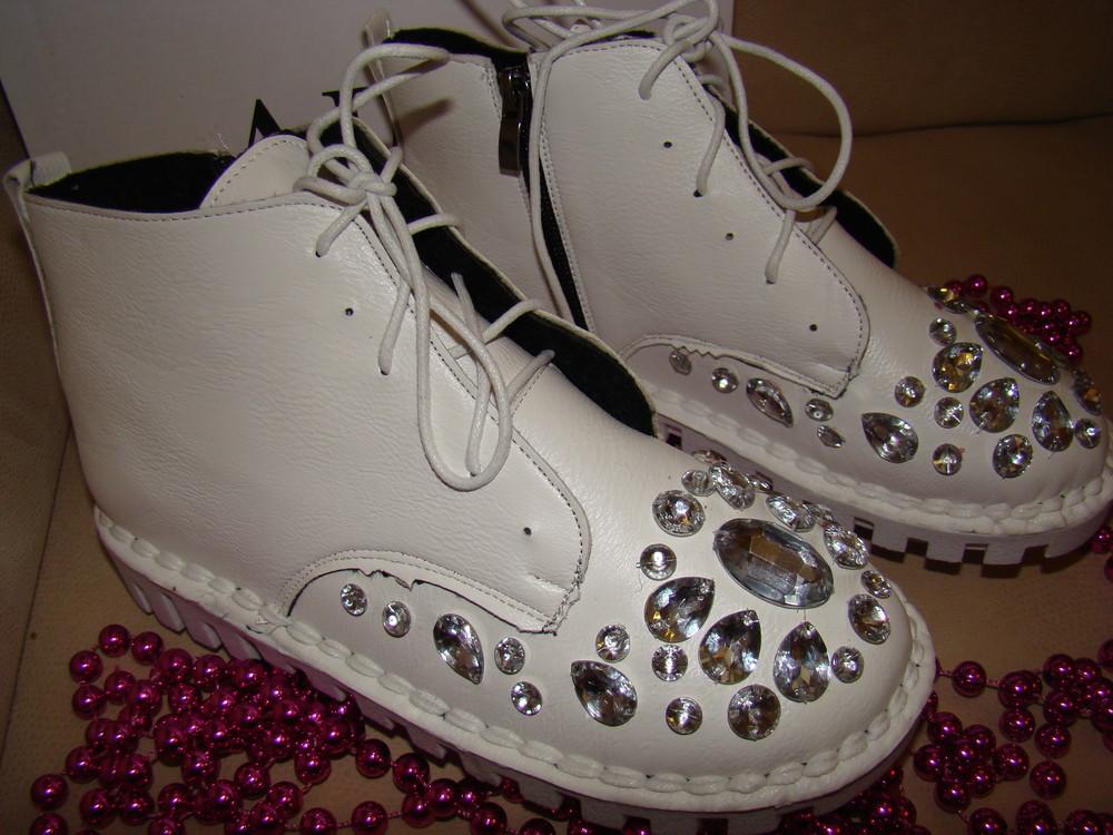 Ботинки демисезонные фото №2