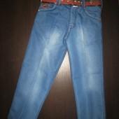 Детские джинсы на мальчика рр. 98-140 Beebaby (Бибеби)