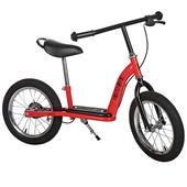 Беговел Profi Kids резиновые колеса 12-14 дюймов тормоз подножка