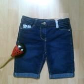 Фирменные джинсовые шорты 8-9 лет