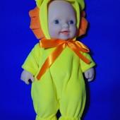 Виниловая музыкальная кукла в костюме животного, разные варианты