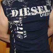 Стильная брендовая майка Diesel (Дизель).л-хл .