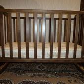 Детская кроватка Веселка Рута+ матрасик