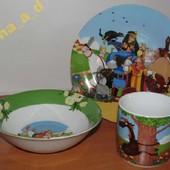 C186 Набор детской посуды Добрыня