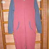 Пижама хлопковая, мужская, размер М, рост до 185 см, новая без бирки