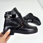 Демисезонные  ботиночки в  стиле HeRmes