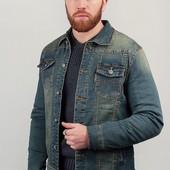 Акция. Распродажа. Куртка джинсовая мужская, демисезонная. Арт. 331K001