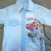 Стильная турецкая рубашка. Состояние новой