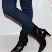 Ботинки 41 р 5th Avenue USA кожа оригинал демисезон