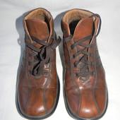 Мужские кожаные ботинки Geox р.40 дл.ст 26см