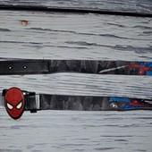 Новый очень эффектный фирменный пояс детский для супер героя Спайдермен Человек Паук