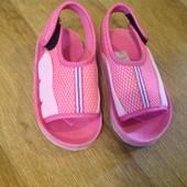 Пляжная обувь на девочку стелька 14 см