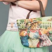 Детская сумочка с кроликами