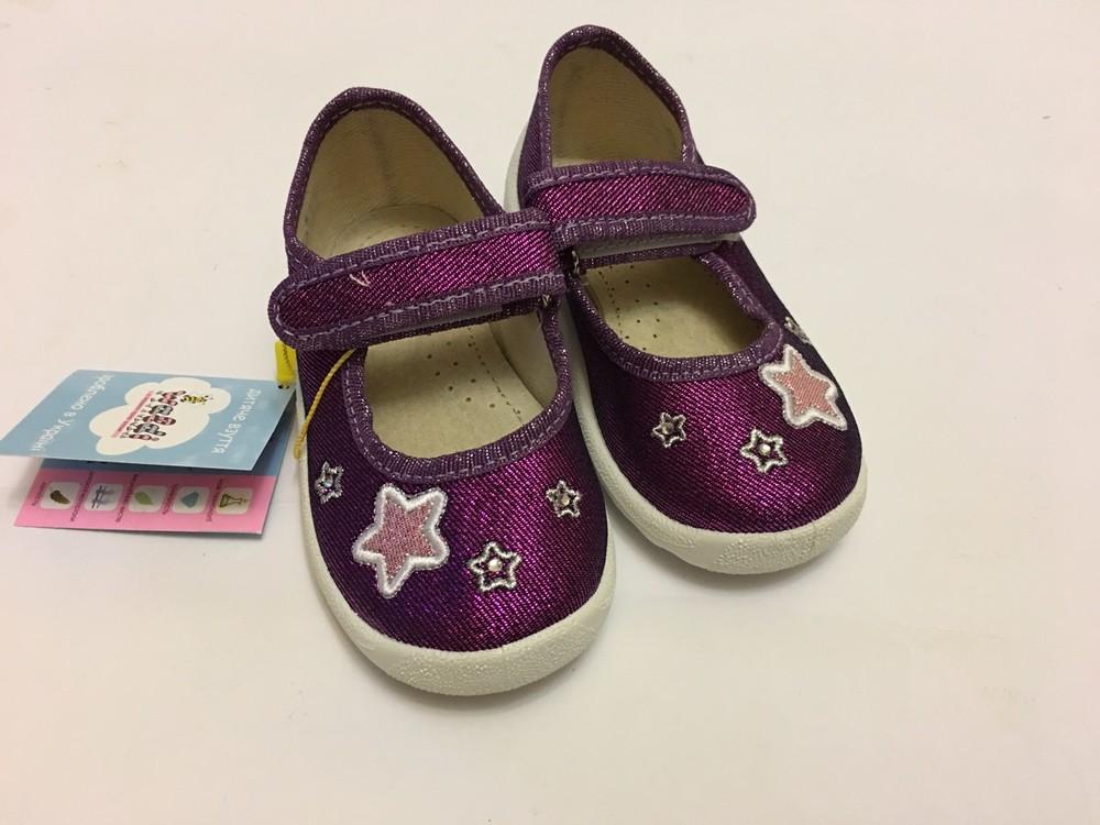 Мокасины, тапочки фиолетовые с сердечком фото №8