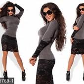 Стильные женские платья разных цветов