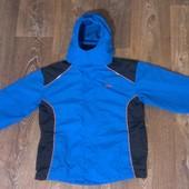 всесезонная термо-куртка ветровка в комплекте с флиской 3 в 1, р.146-160