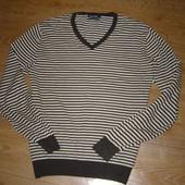 Massimo Dutti мужской свитер хлопок-лен L-XL размер.Оригинал