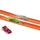 Hot Wheels Дополнение к трекам Двойной пускатель workshop track builder 2 lane launcher