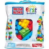 Mega Bloks first builders Первые строители 60 деталей big building bag 60-piece DCH55