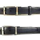 Двухсторонний Кожаный Ремень 3,5 см. - 120 см.