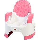 Fisher-Price Горшок раздвижной для девочки розовый custom comfort potty training seat girl