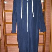 Пижама флисовая, мужская, размер М, рост до 180 см