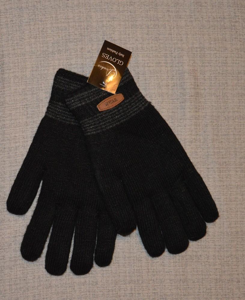Перчатки мужские на меху зима фото №1
