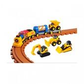 Железная дорога для малышей Cat Preschool Express Train