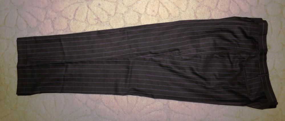 Костюмные брюки большого размера. фото №1