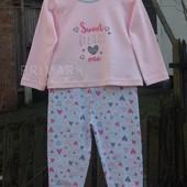 Трикотажная пижама для девочки (1- 2 года) Primark