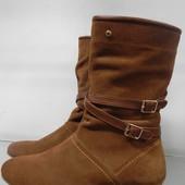 Замшевые демисезонные ботинки 41р