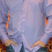 Стильная фирменная рубашка сорочка Rubens Barn.л-хл .