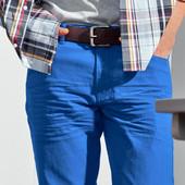 Качественные чиносы от ТСМ(германия), размер 54-56 ,цвет- голубой