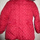 Теплое пальтишко M&S