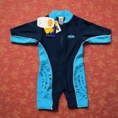 Купальный комбинезон на 3-6 месяцев Mini Mode для плавания и пляжа с защитой от ультрафиолета. Соста
