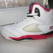 Кожаные кроссовки Nike Jordan 34 р