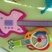 Гитара на английском и французском leap frog