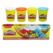 Play-Doh Пластилин в 4-х баночках Дино 4-pack of colors dino A9213