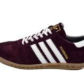 Акция!!! Кроссовки Adidas hamburg trainers vinous (реплика)